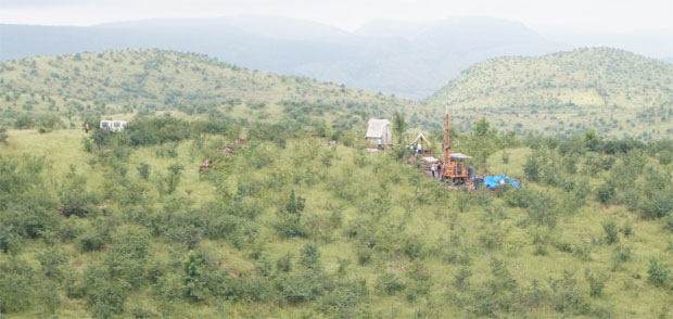 Drilling in the Souh-West Cuddapah Basin