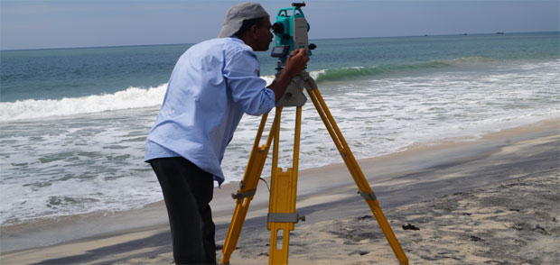 Surveying for Beach Placers