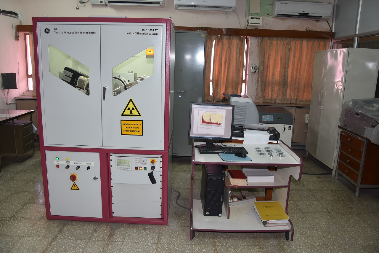 X-Ray Diffraction Laboratory